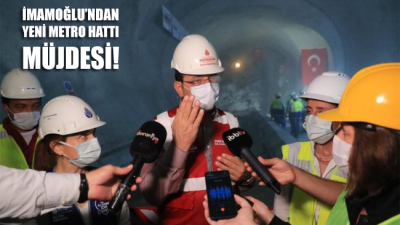 Ekrem İmamoğlu,farklı metro hatları için kredi bulma çalışmalarının sürdüğünü duyurdu