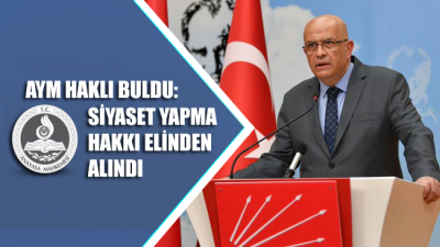 Enis Berberoğlu'nun AYM'ye bireysel başvurusundan 'hak ihlali' kararı çıktı