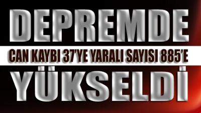 Erdoğan açıkladı! İzmir'deki depremde 37 can kaybı…