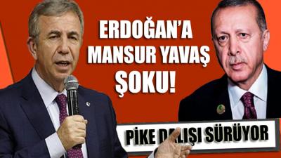 Erdoğan'a soğuk duş… Mansur Yavaş farkı açıyor! İşte son anketin sonuçları
