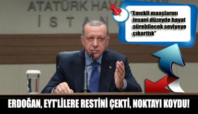 Erdoğan, EYT'lilere restini çekti noktayı koydu: Seçimi kaybetsek de ben yokum!
