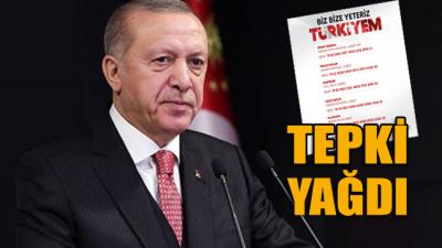 Erdoğan'ın başlattığı 'BAĞIŞ KAMPANYASI' duyurusuna tepki yağdı!