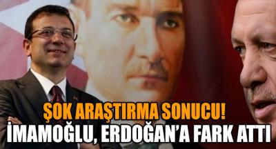 Ezberleri bozan araştırma sonucu: İmamoğlu, Erdoğan'a fark attı