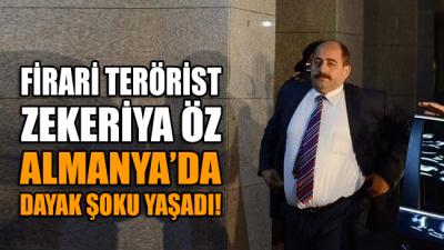 FETÖ'cü eski savcı Zekeriya Öz'e gurbetçi bir Türk tarafından Almanya'da dayak...