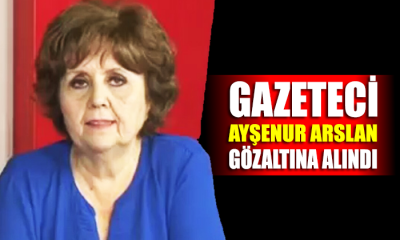 Gazeteci Ayşenur Arslan gözaltına alındı