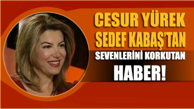 Gazeteci ve televizyoncu Sedef Kabaş kaza geçirdi