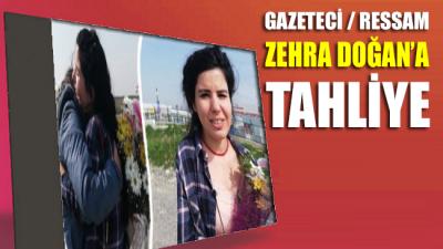 Gazeteci/ressam Zehra Doğan'a tahliye