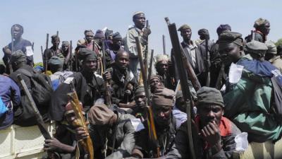 Gerici terör örgütü Boko Haram'dan vahşi saldırı! Köyü ateşe verdiler