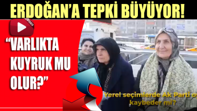 Halktan Erdoğan'a tarafsızlık tepkisi! Bir Cumhurbaşkanı...