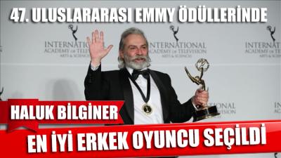 Haluk Bilginer, 47. Uluslararası Emmy Ödülleri'nde 'en iyi erkek oyuncu' seçildi