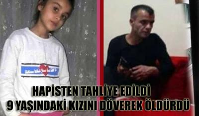 Hapisten tahliye edildi, 9 yaşındakı kızı Ceylan'ı döverek öldürdü!