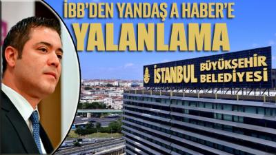 İBB Basın Sözcüsü Murat Ongun'dan A Haber'e yalanlama