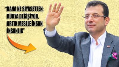 İmamoğlu'ndan Erdoğan'a yanıt!