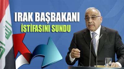 Irak Başbakanı istifasını sundu!
