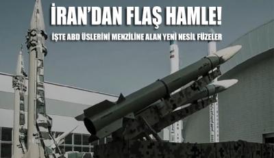 İran'dan flaş hamle: İşte ABD'nin bölgedeki tüm üslerini menziline alan füzeler