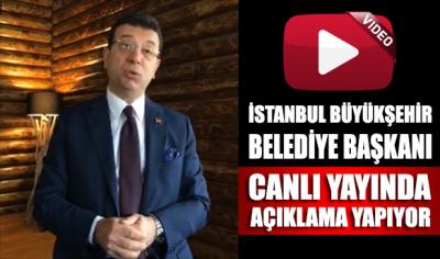 İstanbul Büyükşehir Belediye Başkanı Ekrem İmamoğlu canlı yayında YSK'yı görevini yapmaya davet etti