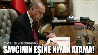 İstanbul seçimini soruşturan savcının eşine kıyak atama