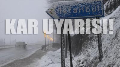 İstanbul'a kar geri dönüyor! Hava sıcaklıkları 10 derece düşecek
