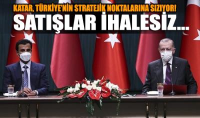 İşte AKP'nin Katar'a ihalesiz verdikleri