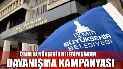 İzmir'de corona virüsünden etkilenen vatandaşlar için dayanışma kampanyası!