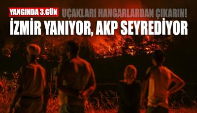 İzmir'deki yangın devam ediyor ama hala THK uçakları hangarda...