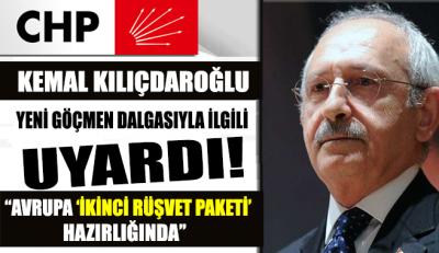 Kılıçdaroğlu bir kez daha uyardı: Avrupa 'İkinci Rüşvet Paketi' hazırlığında
