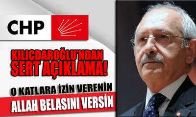 Kılıçdaroğlu CHP grup toplantısında çok sert açıklamalarda bulundu