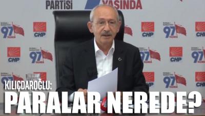 Kılıçdaroğlu: Tablet, bilgisayar, cep telefonu satılırken toplanan paralar nerede?