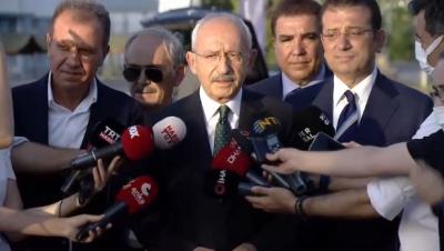 Kılıçdaroğlu, THK'yı ziyaret etti: Değil 4 milyon biz 14 milyon dolar para da toplarız