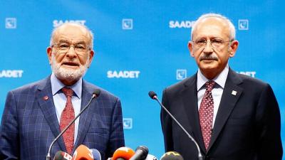 Kılıçdaroğlu ve Karamollaoğlu'ndan ortak açıklama