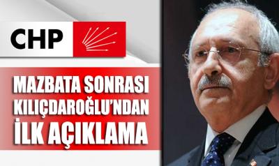 Kılıçdaroğlu'ndan mazbata sonrası ilk açıklama geldi!