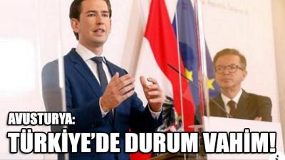 Korkmaz'ı yakalayan Avusturya'dan açıklama: Türkiye'de durum vahim