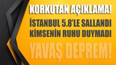 Korkunç iddia: Yavaş deprem İstanbul'u vurdu… Şehir 5.8'le sallandı kimse duymadı