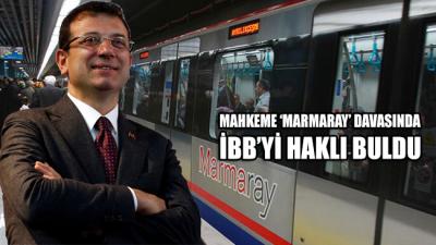 Mahkeme, 'Marmaray' davasında İBB'yi haklı buldu; aktarmalı ulaşıma devam