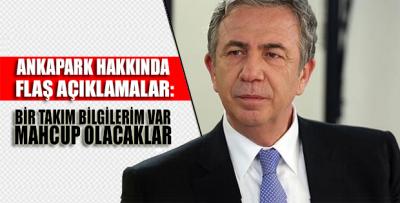 Mansur Yavaş Ankapark hakkında iddialı konuştu! 'Mahcup olacaklar'