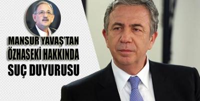 Mansur Yavaş'tan Mehmet Özhaseki'ye suç duyurusu!