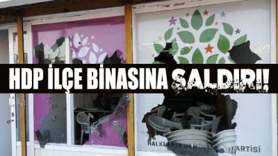 Marmaris'te HDP binasına saldırı: Saldırgan gözaltına alındı
