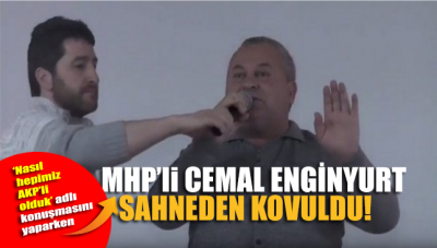 MHP'li Vekil, katıldığı festivalde sahneye çıkıp siyaset yapmaya kalkışınca kovuldu