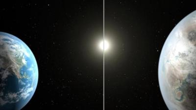 NASA Dünya'dan daha büyük, su olduğu tahmin edilen bir gezegen buldu!