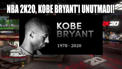 NBA 2K20, Kobe Bryant'ı unutmadı!