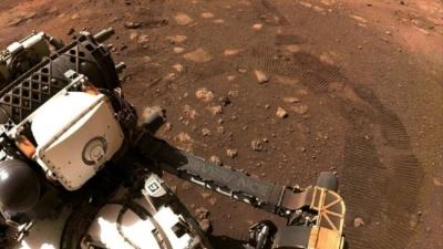 Perseverance Mars'ta ilk izlerini bıraktı