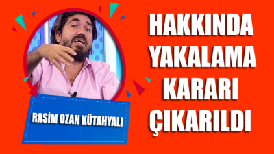 Rasim Ozan Kütahyalı hakkında yakalama kararı çıkarıldı