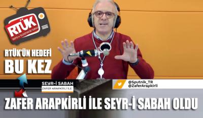 RTÜK'ün hedefi bu kez Zafer Arapkirli ile Seyr-i Sabah programı oldu