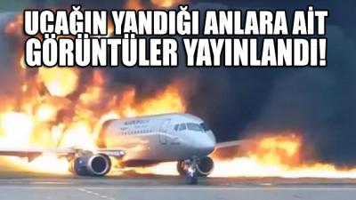 Rusya'da korkunç uçak kazasının yeni video görüntüleri yayınlandı