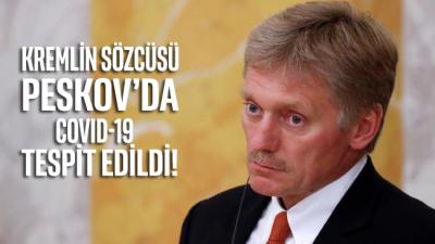 Rusya'dan şok haber: Kremlin sözcüsü Peskov'da COVID-19 tespit edildi