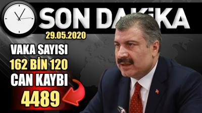 Sağlık Bakanı Fahrettin Koca son verileri açıkladı