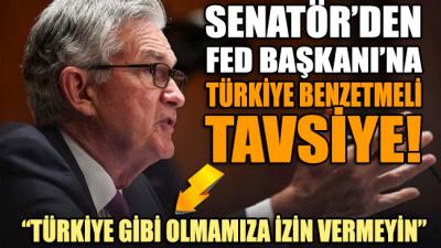 Senatör'den FED Başkanı'na Türkiye benzetmeli tavsiye: Türkiye gibi olmamıza izin vermeyin