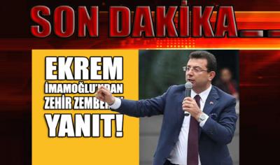 SON DAKİKA... İmamoğlu'dan Cumhurbaşkanı Erdoğan ve bir bakana zehir zemberek sözler