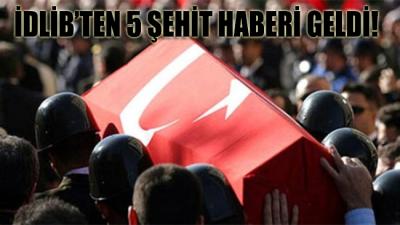 Suriye güçleri Türk gözlem noktasını vurdu: 5 Şehidimiz var