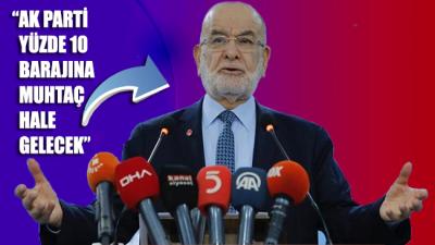 Temel Karamollaoğlu: AK Parti yüzde 10 barajına muhtaç hale gelecek